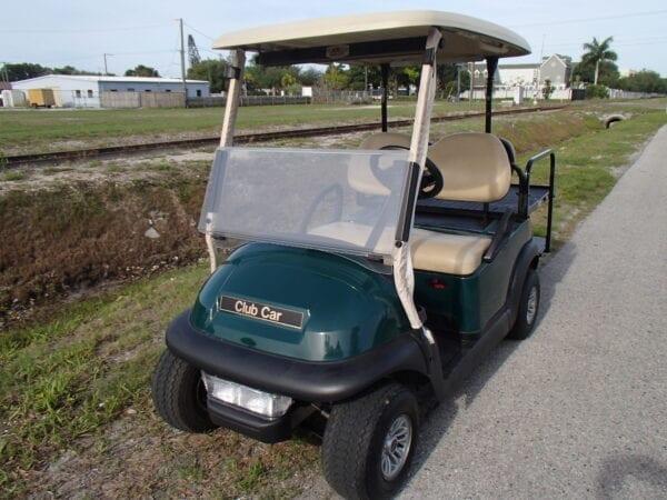 Green Club Car