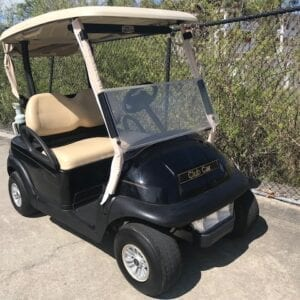 Black Club Car