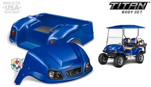 Club Car Custom Titan Body