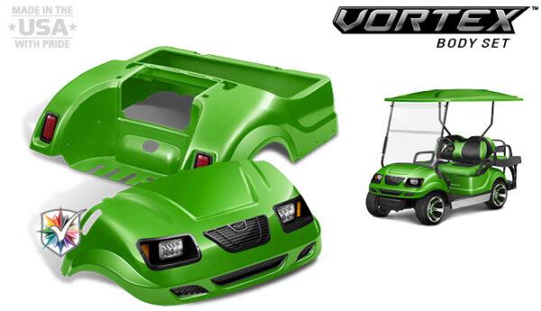 Club Car Precedent Custom Vortex Body